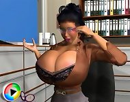 Big boobs 3d
