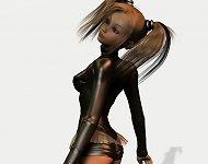 Leather toon