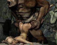 3D Porn Horor