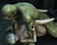3D evil demons