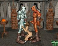 When Horny Monsters Attack Exclusive 3D Babes Fu..
